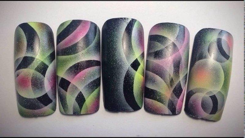 Аерограф - новий рівень в дизайні нігтів